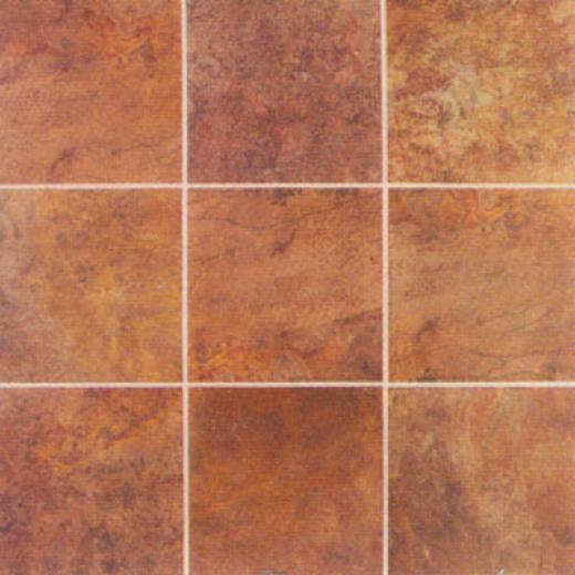 Mohawk Montara 18 X 18 Red Rock Tile & Stone