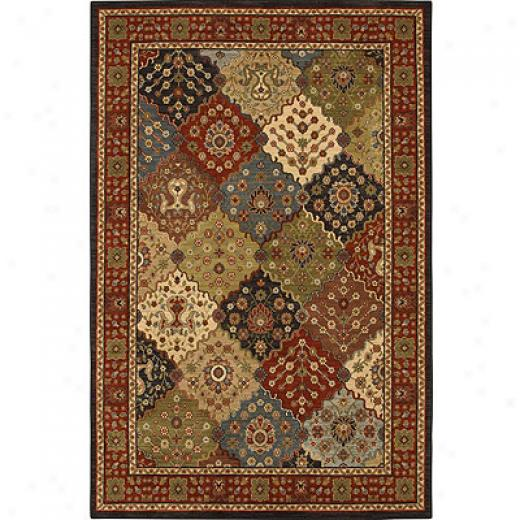 Mohawk Six Star 2 X 8 Sidney Morocco Red Area Rugs