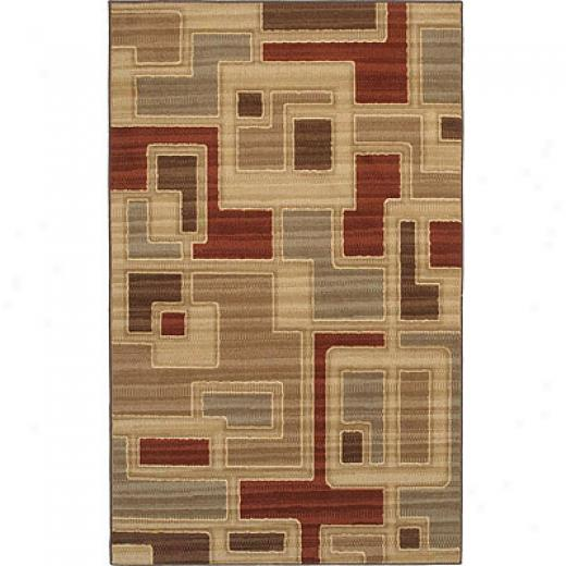 Mohawk Textura Collection 8 X 10 Windam Tan Area Rugs