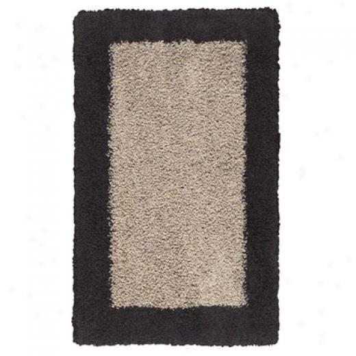 Mohawk Urban Retreat 2 X 8 Blocks Oyster Black Area Rugs