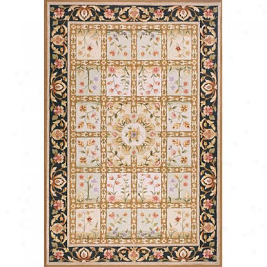 Momeni, Inc.-Antique Empire 5 X 8 Beige Area Rugs