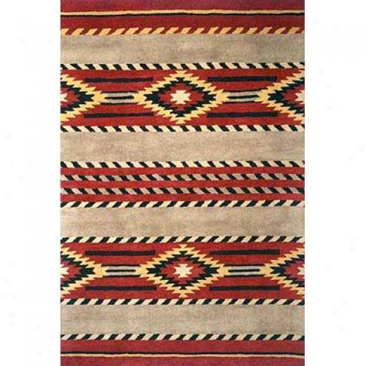 Momeni, Inc. Aspen 8 X 10 Aspen Red Area Rugs