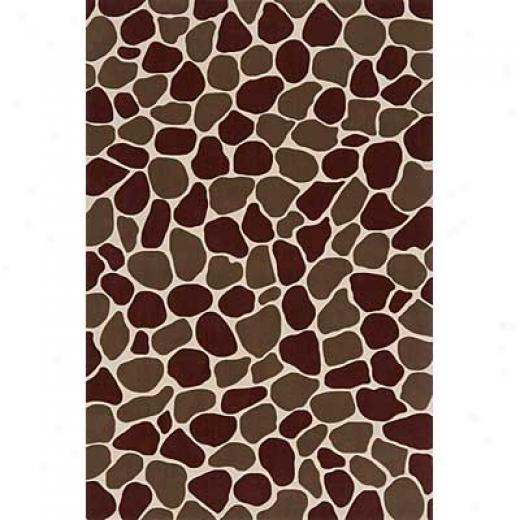 Momeni, Inc. Capri 3 X 8 Runner Cibble Stone Area Rugs