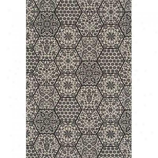 Momeni, Inc. Capri 5 X 8 Black Area Rugs