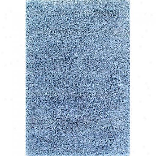 Momeni, Inc. Comfort Shag 5 X 7 Comfort Shag Aqua Blue Area Rugs