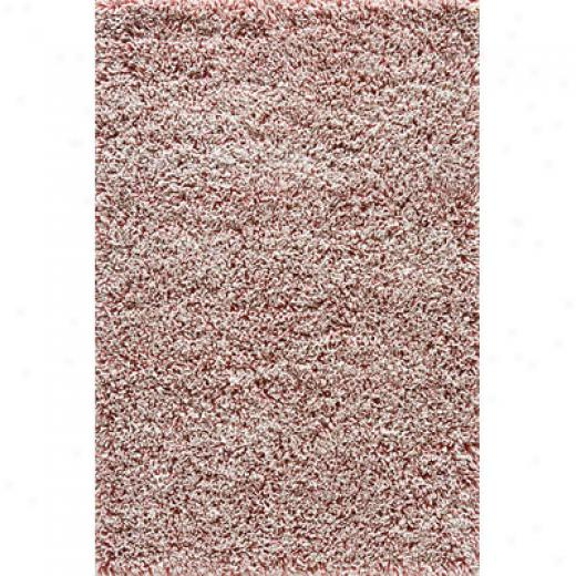 Momeni, Inc. Comfort Shag 8 X 10 Ease Shag Red Area Rugs