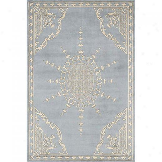 Momeni, Inc. Adaptation 8 X 10 Ice Blue Ha-31 Area Rugs