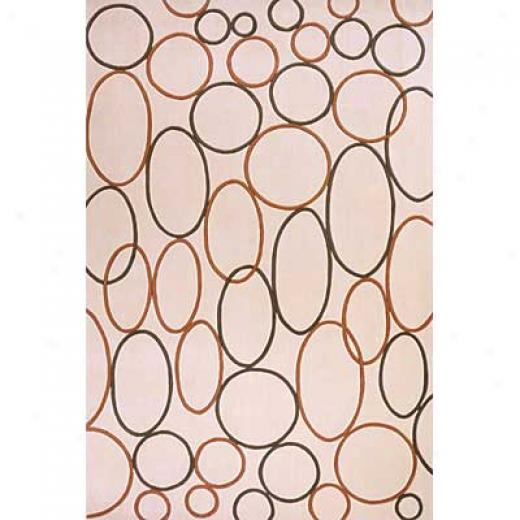 Momeni, Inc. Innovations 5 X 8 Innovations Ivory Area Rugs