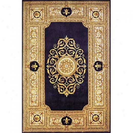 Momeni, Inc. Maison 5 X 8 Blue Area Rugs