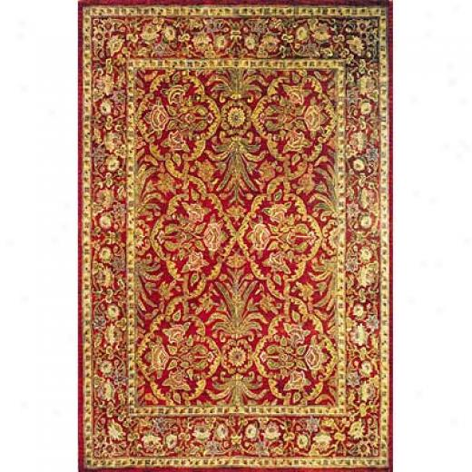 Momeni, Inc. Mandalay 6 X 8 Red Area Rugs