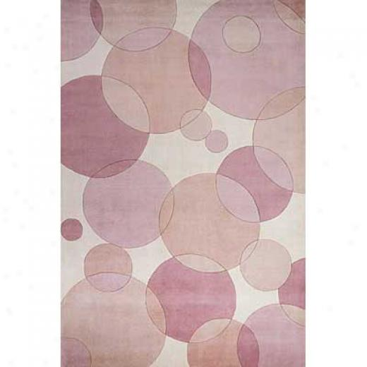 Momeni, Inc. New Wave 5 X 8 New Wave Pink Area Rugs