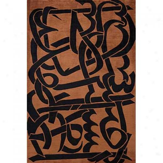 Momeni, Inc. New Wave 8 X 10 New Wave Copper Yard Rugs