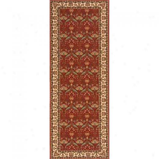 Momeni, Inc. Persian Garden 2 X 8 Runner Salmon Area Rugs