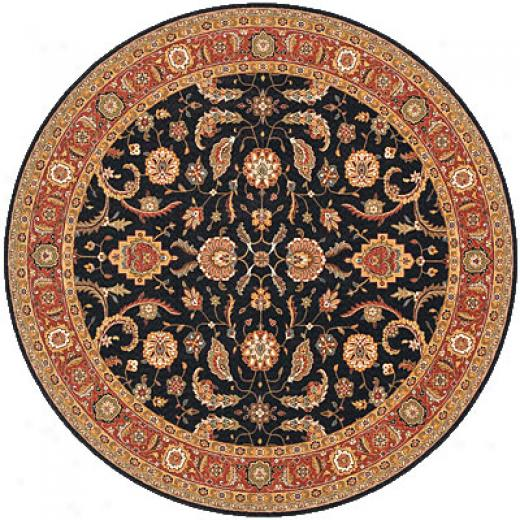 Momeni, Inc. Persian Garden 5 Round Salmon Area Rugs