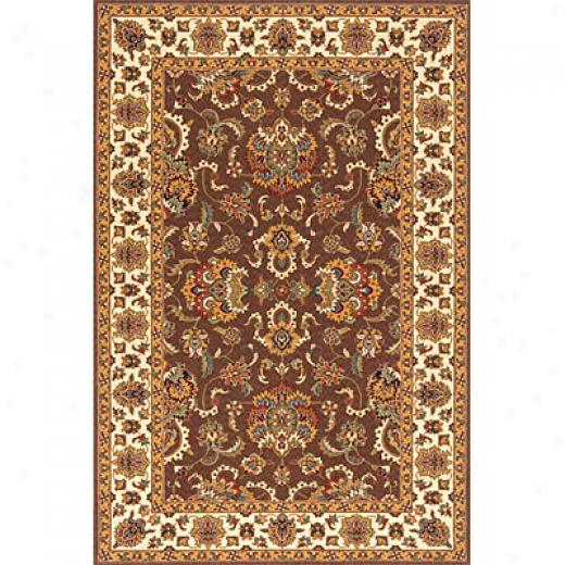 Momeni, Inc. Persian Garden 8 X 10 Cocoa Area Rugs