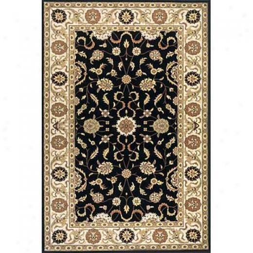 Momeni, Inc. Sutton Place 2 X 3 Black Area Rugs