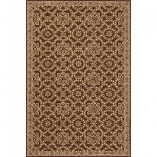 Momeni, Inc. Sutton Place 5 X 8 Brown Area Rugs