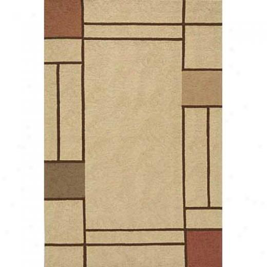 Momeni, Inc. Veranda 5 X 8 Veranda Brown Area Rugs
