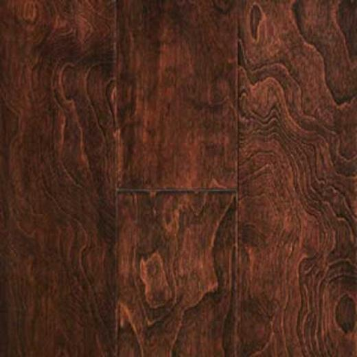 Mullican Austin Springs Handsculpted Loc-tofit Birch Mocha Hardwood Flooring
