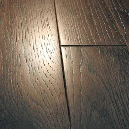 Mullican Frontier Wire Brushed Solid 4 Oak The dead of night Cherry Hardwood Flooring