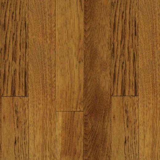 Mullican Muirfield- Four Sided Bevel 3 Hickory Saddle Hardwood Flooring
