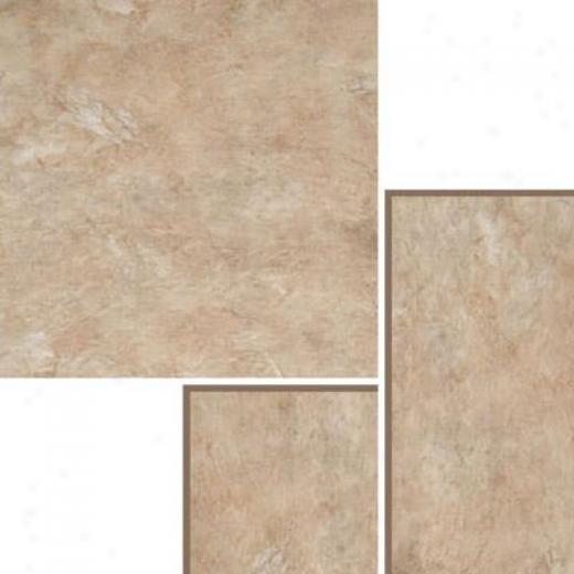 Nafco Permastone Modular Parchment Earth Vinyl Flooring