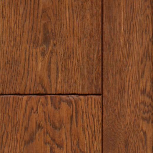 Natural Floors Carriage House Engineered Lead Scraped Toast Hardwood Flooring