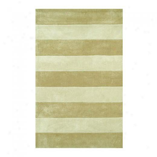 Nejad Rugs Boardwalk Stripes 8 X 11 Sand/ivory Area Rugs