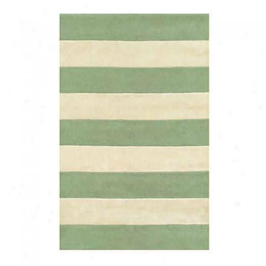 Nejad Rugs Boardwalk Stripes 8 X 11 Seaform/ivory Area Rugs