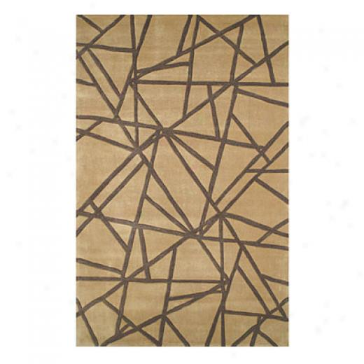 Nejad Rugs Connected 4 X 6 Gold/brown Ara Rugs