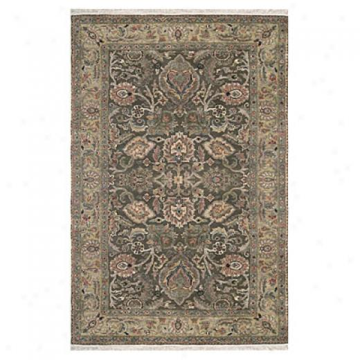 Nejad Rugs Couture 10 X 14 Textured Agra Brown/beige Area Rugs