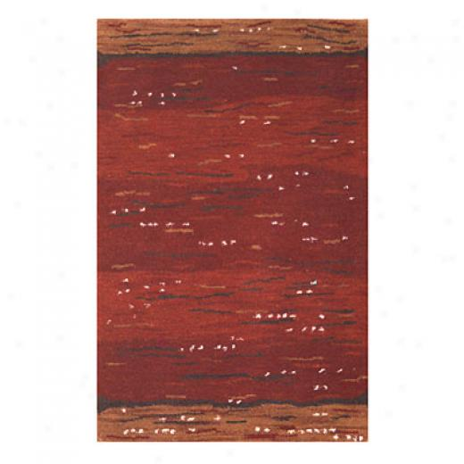 Nejad Rugs Earth Valley 8 X 10 Rust Area Rugs