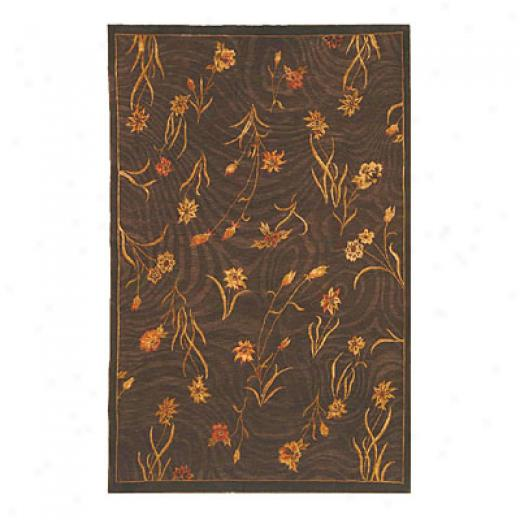Nejad Rugs Gardeh Flowers 6 X 8 Brown/brown Area Rugs