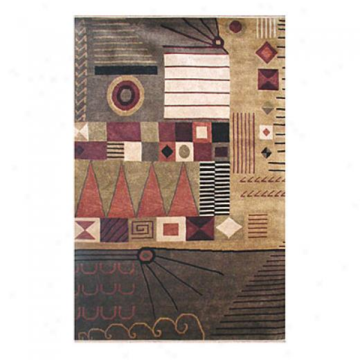 Nejad Rugs Metro 6 X 9 Gold/browns Area Rugs