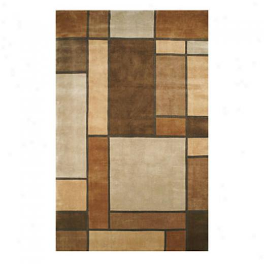 Nejad Rugs Metro Recent 4 X 6 Beige/brown Area Rugs