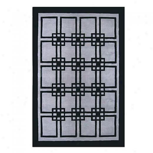 Nejad Rugs Omni 4 X 6 Grey/black Area Rugs