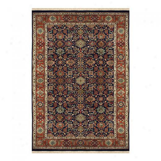 Nejad Rugs Signature Hirloom 8 X 10 Heriz Rust/navy Area Rugs