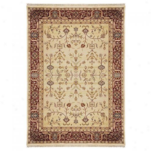 Nejad Rugs Signature Masterpiece 8 X 10 Signature Tabriz A/o Gold/burgundy Area Rugq