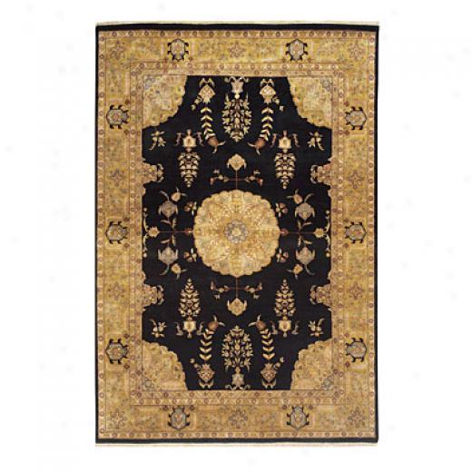 Nejad Rugs Signature Masterpiece 2 X 4 Signature Tabriz Med Black/gold Area Rugs