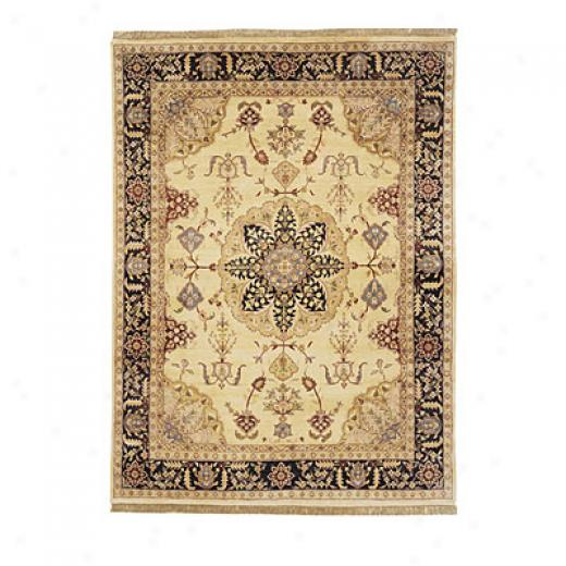 Nejad Rugs Signature Masterpiece 5 X 7 Signature Tabriz Med Gold/black Area Rugs