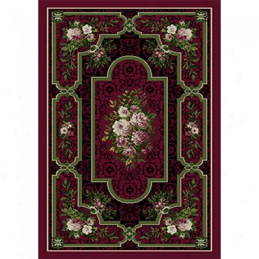 Orian Rugs Magic 2 X 3 Ashyln Burgundy Area Rugs