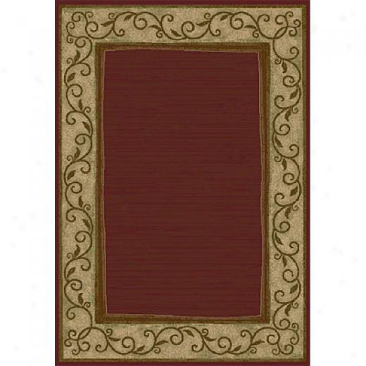 Oeian Rugs Magic 3 X 4 Rush Merlot Area Rugs