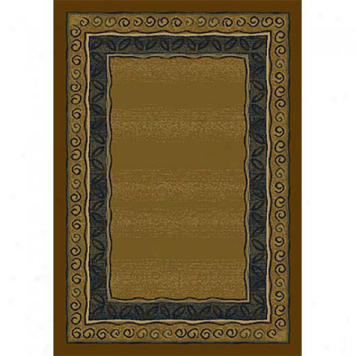 Orian Rugs Magic 7 X 10 Raliegh Sienna Area Rugs