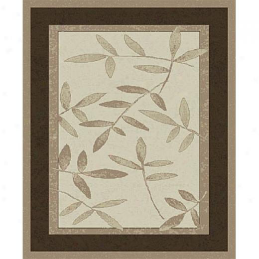 Orian Rugs Patio 3 X 4 Twiggy Frappe Area Rugs
