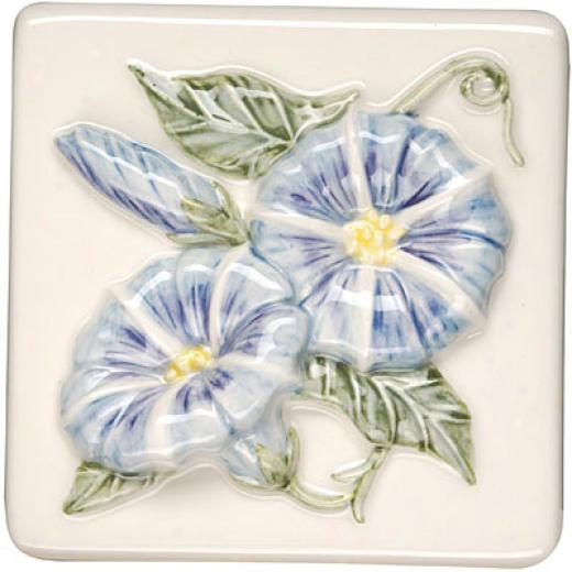 Original Style Bouquet De Fleurs Clematis 4 X 4 Lilies Tile & Stone