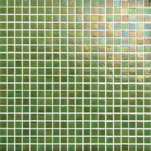 Original Style Iridescent Glass Mosaic 5/8 Cook Tile & Stone