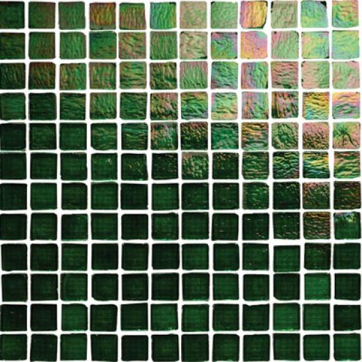 Original Style Lustre Glass Iridescent Crackle Mosaic Meru Tile & Stone