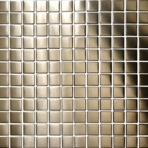 Original Style Metal Mosaics Hussar Brushed Tile & Stone