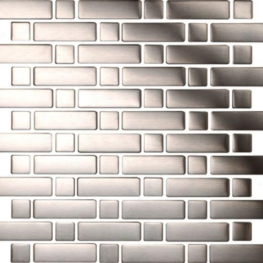 Original Style Metal Mosaics Cavalier Brushed Tile & Stone