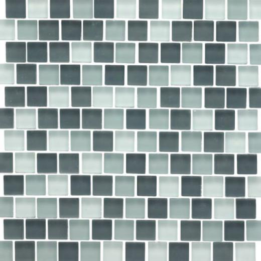 Original Style Offset Sky Mixed Frosted Mosaic Chesapke Tile & Stone